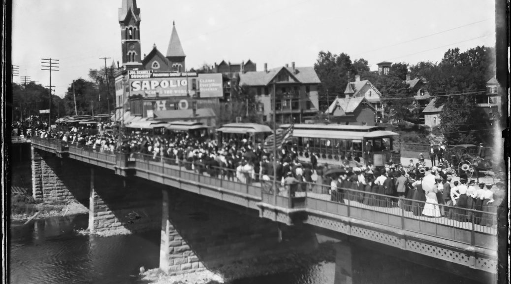 Court Street Bridge Binghamton circa 1900